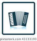 Accordion icon 43133193