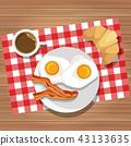 breakfast, dish, food 43133635