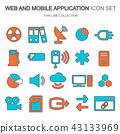 application, digital, set 43133969