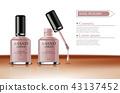 nail, vector, cosmetic 43137452