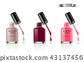 nail, cosmetic, manicure 43137456