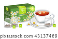 tea, chamomile, camomile 43137469