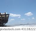 blue sky, blue, White Clouds 43138222