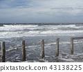 wave, white, blue sky 43138225