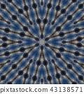 Abstract kaleidoscope 43138571