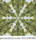 Abstract kaleidoscope 43138586
