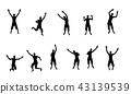 people, jumping, jump 43139539