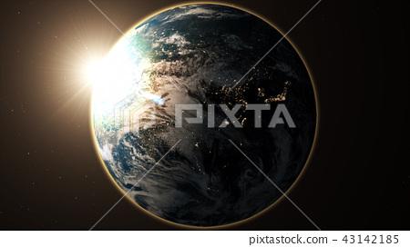 地球背景 43142185