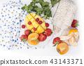 fruit mango strawberry 43143371