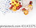 fruit mango strawberry 43143375