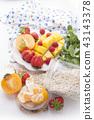 fruit mango strawberry 43143378