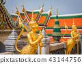 Golden Angle at Wat Phra Kaeo, Temple 43144756