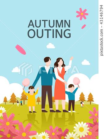 秋天的插圖 43146794