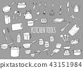 厨房用品 收藏 货物 43151984