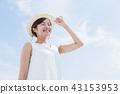 여성, 여자, UV 케어 43153953