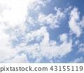 구름, 하늘, 푸른 하늘 43155119