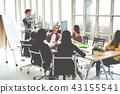 Asian creative businessman making presentation 43155541