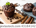 tasty homemade chocolate muffin 43164142