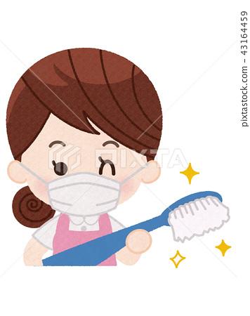 Dental hygienist woman 43164459