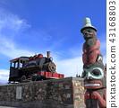 alaska railroad, alaska, united states of america 43168803