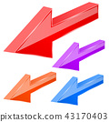 arrows, arrow, 3d 43170403