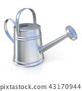 Metal watering can 3D 43170944