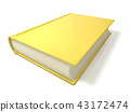 Yellow book. 3D 43172474