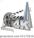 Video, movie, cinema production concept 43172616