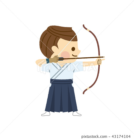 Men who make archery - Stock Illustration [43174104] - PIXTA