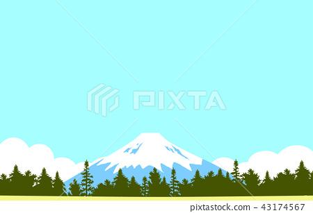 Mt. Fuji landscape 43174567