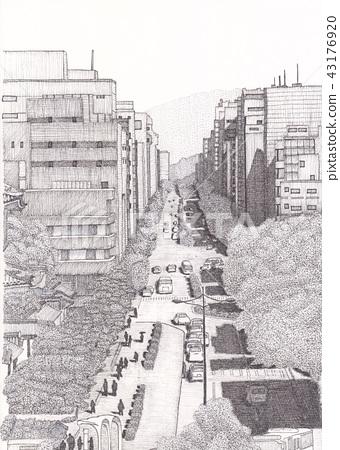 Urban landscape 43176920