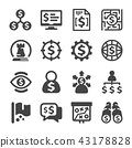 business strategy icon 43178828