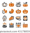 pumpkin icon 43178859