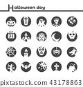 halloween icon 43178863