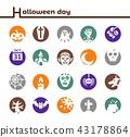 halloween icon 43178864