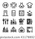 kitchen icon 43178892