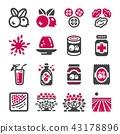 cranberry icon 43178896