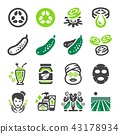 cucumber icon 43178934