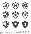 shield icon 43179191