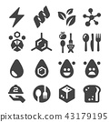 nutrition facts icon 43179195