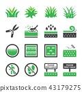 grass icon 43179275