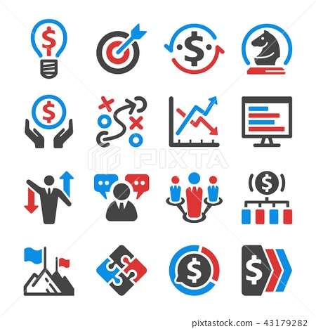 Business Strategy Icon Stock Illustration 43179282 Pixta You can use our free online tool to generate css sprites. https www pixtastock com illustration 43179282