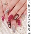 hand, manicure, nailpolish 43180454