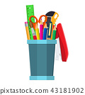 pen pencil ruler 43181902