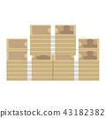 ประเทศญี่ปุ่น,ม้วนธนบัตร,ธนบัตร 43182382
