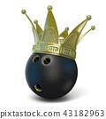 bowling, crown, 3d 43182963