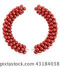 Red balloons arc laurel 43184038