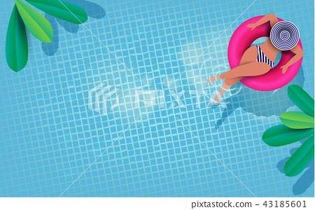 Summer holiday idyllic. 43185601