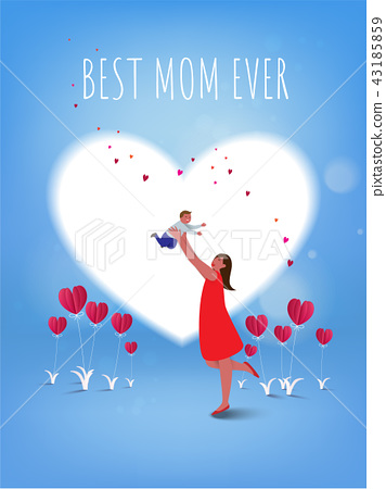 Happy mother's day. 43185859