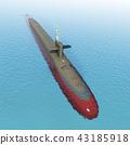 Modern submarine 43185918